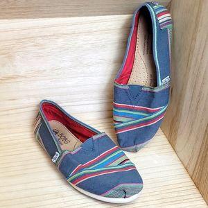 Bobs Skechers Blue Multicolor Flat Alpagratas Shoe